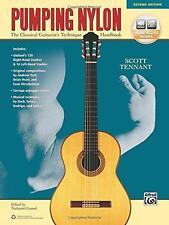 Pumping Nylon: The Classical Guitarist's Technique Handbook (Spiral Book)