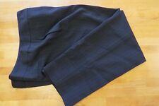 Kasper St. Moritz black pants with red pinstripe UK 20 trousers