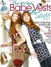 ANNIE'S ATTIC Babe Vests & Stuff/Apparel/Crochet Pattern INSTRUCTIONS ONLY