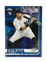 2019 Topps Chrome Update #28 Thairo Estrada Blue RC Rookie Card YANKEES🔥