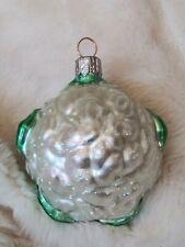 """1999 #9941 Patricia Breen Walk in the Marche Ouvert Un Chou-Fleur Ornaments 3"""""""