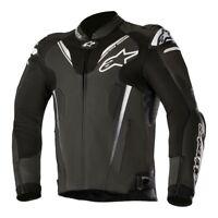 Alpinestars Atem v3 Leather Sports Motorcycle Jacket - Black
