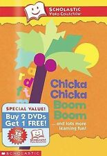 Scholastic DVD Chicka Chicka Boom Boom 3-Pack   (DVD, 3-Disc Set) new