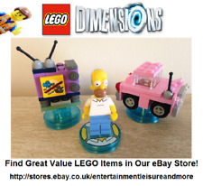 LEGO Dimensions Homer Simpson Level Pack 71202 -- Premium eBay Seller - No Can -