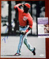 Victor Robles JSA Coa Autograph Hand Signed 11x14 Photo