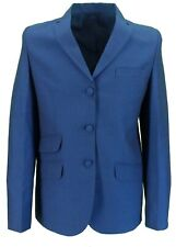 Ladies Relco Tonic Retro Mod Blue/Black Short Jackets