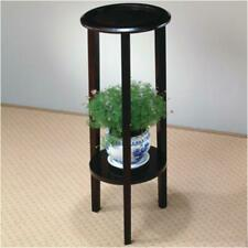 Coaster 900936 Plant Stand With Round Top Cappuccino