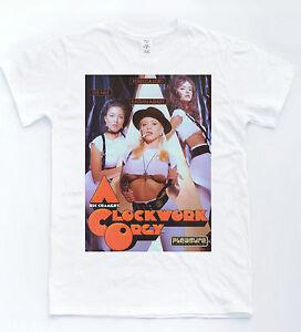 A Clockwork Orange Orgy T shirt Funny Parody Retro Cult Film Tee Sexy 70's Movie
