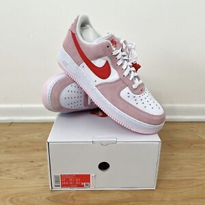 Nike Air Force 1 '07 QS Valentine's Day Love Letter - Deadstock Size 12