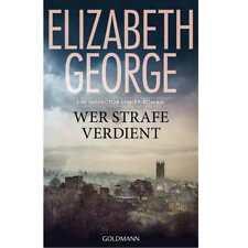 Wer Strafe verdient von Elizabeth George (2018, Gebundene Ausgabe)