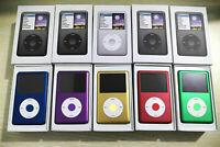 New Apple iPod Classic 7th Generation Blue/Green/Black/Purple/Red 80GB-1TB MP3