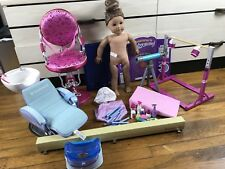 American Girl Kanani Gymnastics Set Spa Chair & Accessories