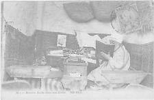 carte postale ALGERIE- NOTAIRE ARABE DANS SON ETUDE- 1913