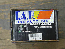 BRAND NEW FDP 78 REAR DRUM BRAKE SHOE SET FITS VARIOUS 1969-1973 FORD VEHICLES