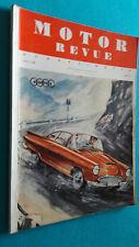 Motor Revue, Europa-Motor, Heft 24, Winterausgabe 1957
