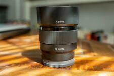 Value Portrait Lens Sony SEL 50mm f/1.8 FE Lens - Black (SEL50F18F)