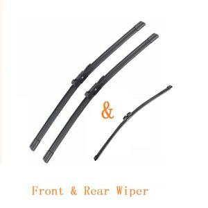 """Front & Rear Wiper Blade For Ford Explorer 2010-2017 OEM Quality 24""""+22""""+11"""""""