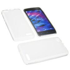 Tasche für MEDION Life E4506 Handytasche Schutz Hülle TPU Gummi Case Transparent