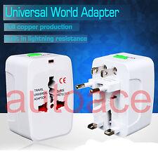 All in One Universal World Travel Power Charger AC Adaptor Plug UK USA EU  AU