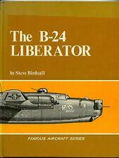 B-24 LIBERATOR, FAMOUS AIRCRAFT SERIES, BIRDSALL,1968 NEW HARDBOUND BOOK / SALE