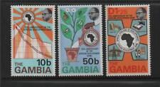 Gambia 1975 Africana Dev. Banco Sg 333/5 Mnh