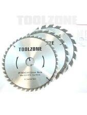 sega circolare TCT DISCO LAME 3PC 190mm 20, 24 E 40 Dente 30mm foro - Attrezzo