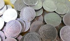 100 COINS LOT - 1997 50TH YEAR OF INDEPENDENCE Steel Commemorative 50 Paise
