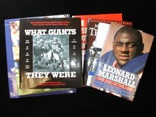 Group of 7 New York Giants Related Books