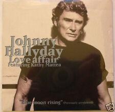 Johnny HALLYDAY  (CD Single)  Love affair    NEUF SCELLE  REEDITION 2006