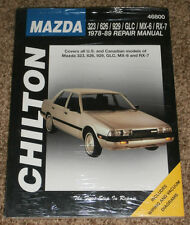 Chilton~Repair Manual Mazda~323/626/929 GLC/MX-56/R-7 1978-89~# 46800