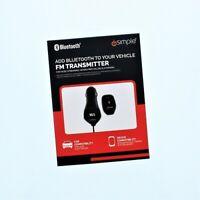 iSimple - Blustream Bluetooth FM Modulator - Black