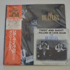 "THE BEATLES - LIVE ! IN HAMBURG 1962 - 1985 JAPAN 2LP + 7"" SINGLE PROMO"