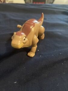 """1997 LITTLE FOOT Burger King Wind Up Toy Dinosaur """"Land Before Time"""" (works)"""