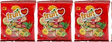 3 BAG Fruit Love Heart Plus Chewy Candy Pineapple Guava Strawberry Mango 5.2 oz