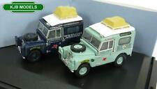 BNIB OO GAUGE OXFORD 1:76 76SET64 2 Piece Land Rover Set First Overland