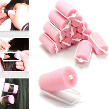 16X Magic Foam Rollers Sponge Hair Care Styling Soft Curler Curlers DIY Tool Set