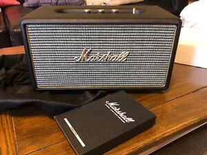 New seal box Marshall Stanmore Bluetooth Speaker Black (04091627)