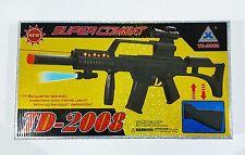 New Super Combat Kids Toy Gun Vibrate Firing TD-2008 Light Sound UV Radiation UK