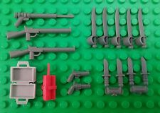 *NEW* Lego Guns Rifles Swords Daggers Pistols Dynamite Spear Gun Weapons Pack