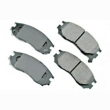 Akebono ACT484 Front Ceramic Brake Pad (Axle Set) 12 Month 12,000 Mile Warranty