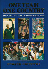 One Team One Country The Greatest Year of Springbok Rugby 1995 SOUTH AFRICA BOOK