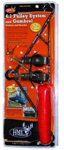 HME Game Hanging Heavy Duty Steel Gambrel 3/8 Inch Hanger GHG-4
