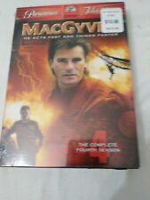 MacGyver Complete Season 4 Dvd Sealed