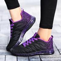 Womens Girl Athletic Shoes Outdoor Casual Jogging Walking Sneaker Plus Size 5-11