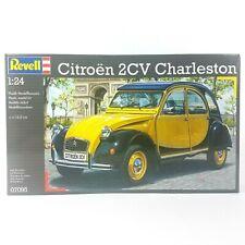Revell Citroen 2CV Charleston Plastic Model Car Kit - 1:24 Scale No 807095