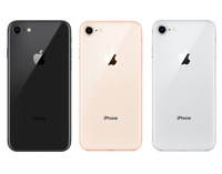 Unlocked Apple iPhone 8 GSM AT&T T-Mobile Metro Pcs Smartphone- All Sizes