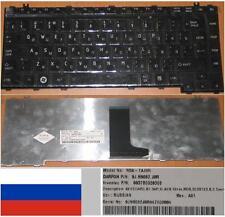 CLAVIER QWERTY RUSSE Toshiba A300 A305 NSK-TAJ0R 9J.N9082.J0R Noir Brillant