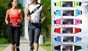 Sports Running Waist Belt Jogging Gym Bag Case Cover Holder For Mobile phone UK