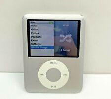 Apple IPod Nano 3rd Gen Silver 8GB Bundled Accessories Armbands Tested Working