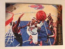 2016-17 Panini Court Kings 5x7 Box Topper Panoramics #1 Carmelo Anthony Knicks
